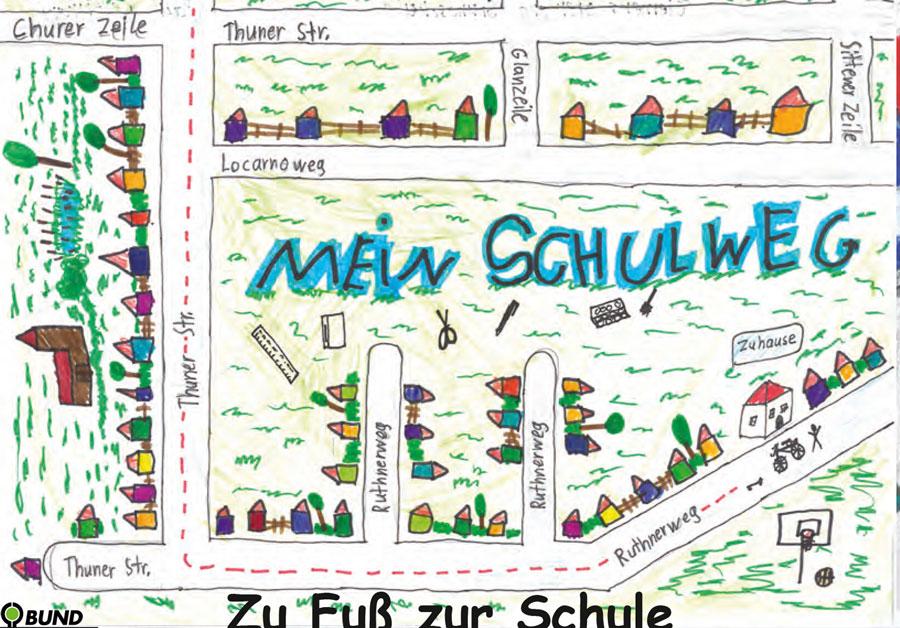 Postkarte: Malwettbewerb