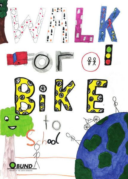 Zu Fuß zur Schule für einen vielfältigen und gesunden Planeten!
