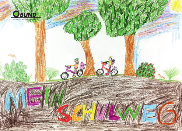 Zu Fuß zur Schule oder mit dem Rad tut gut!